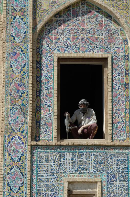 Shiraz, madraseh-ye khan