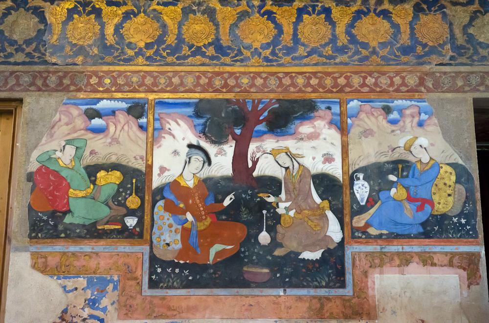 Isfahan- Chehel Sotun palace