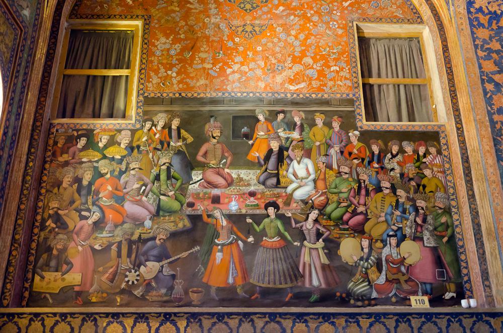 Isfahan, Chehel Sotun Palace, Shah Aabbas I