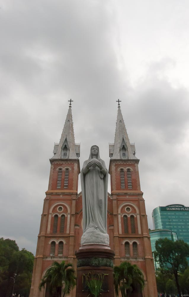 Ho Chi Minh City , cathedral